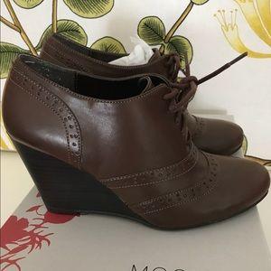 Mootsie Tootsie loafer wedges